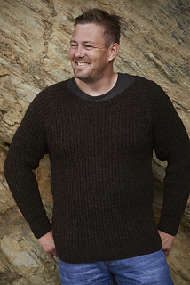 Men's Half Fisherman by Rita Taylor, copyright by Blacker Yarns