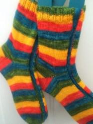 Sideswipe Socks
