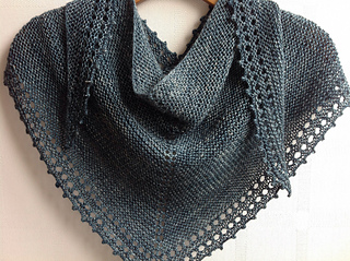 Ravelry Simple Shawl Pattern By Jane Hunter