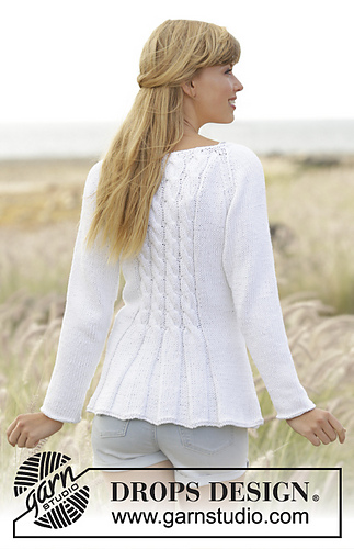 Drops Design Ravelry: 169-1 Romantic Twist Pattern By Drops Design