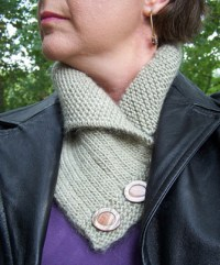 Ravelry: Shawl Collared Cowl pattern by Alana Dakos