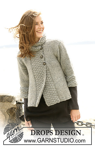 Drops Design Ravelry: 103-1 Silver Haze Pattern By Drops Design