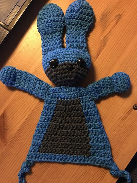 Nutmegknitter's Bunny Rag Doll
