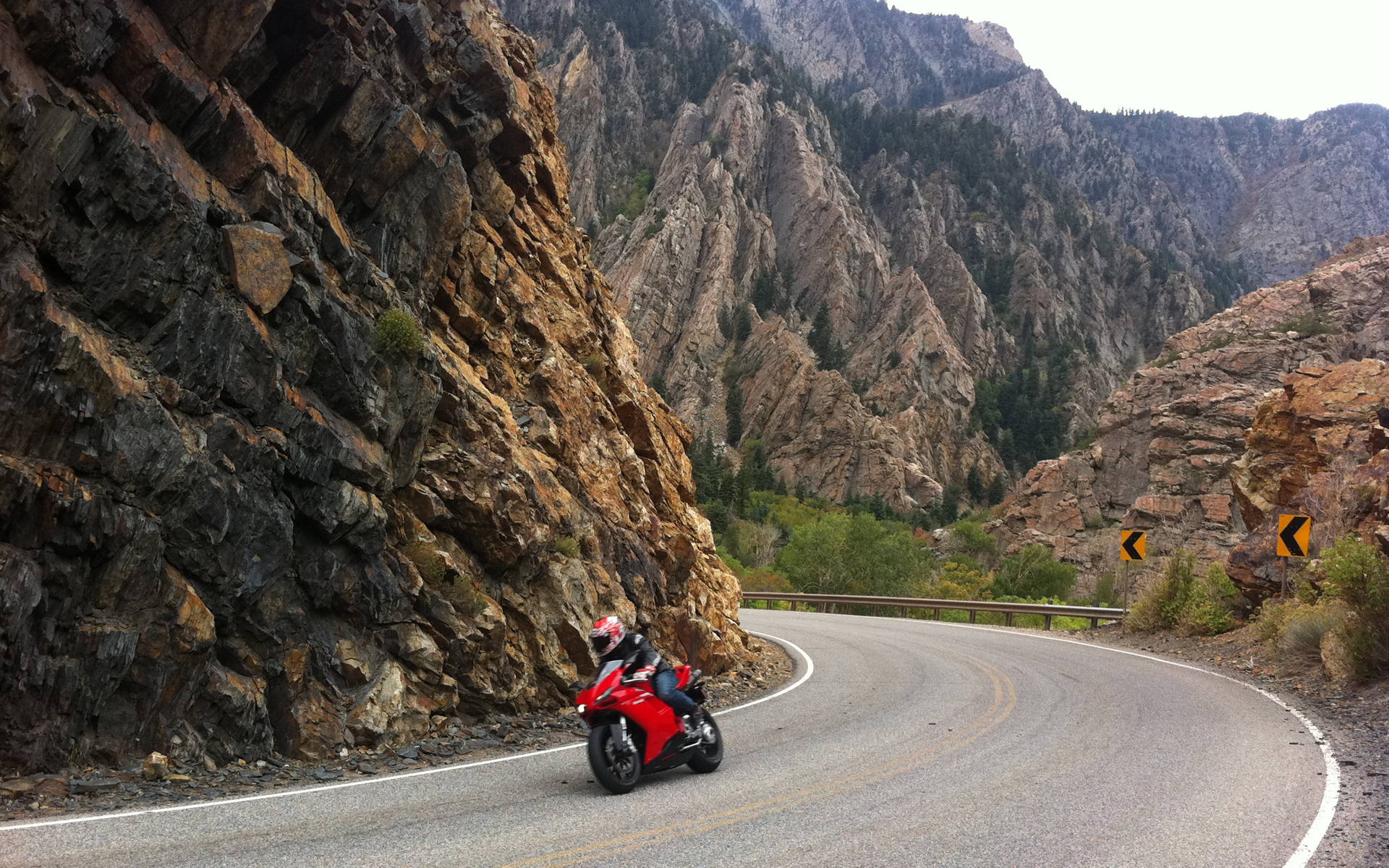 Wallpaper Hd Ducati Ducati 848 Big Cottonwood Canyon Hd Wallpaper Background