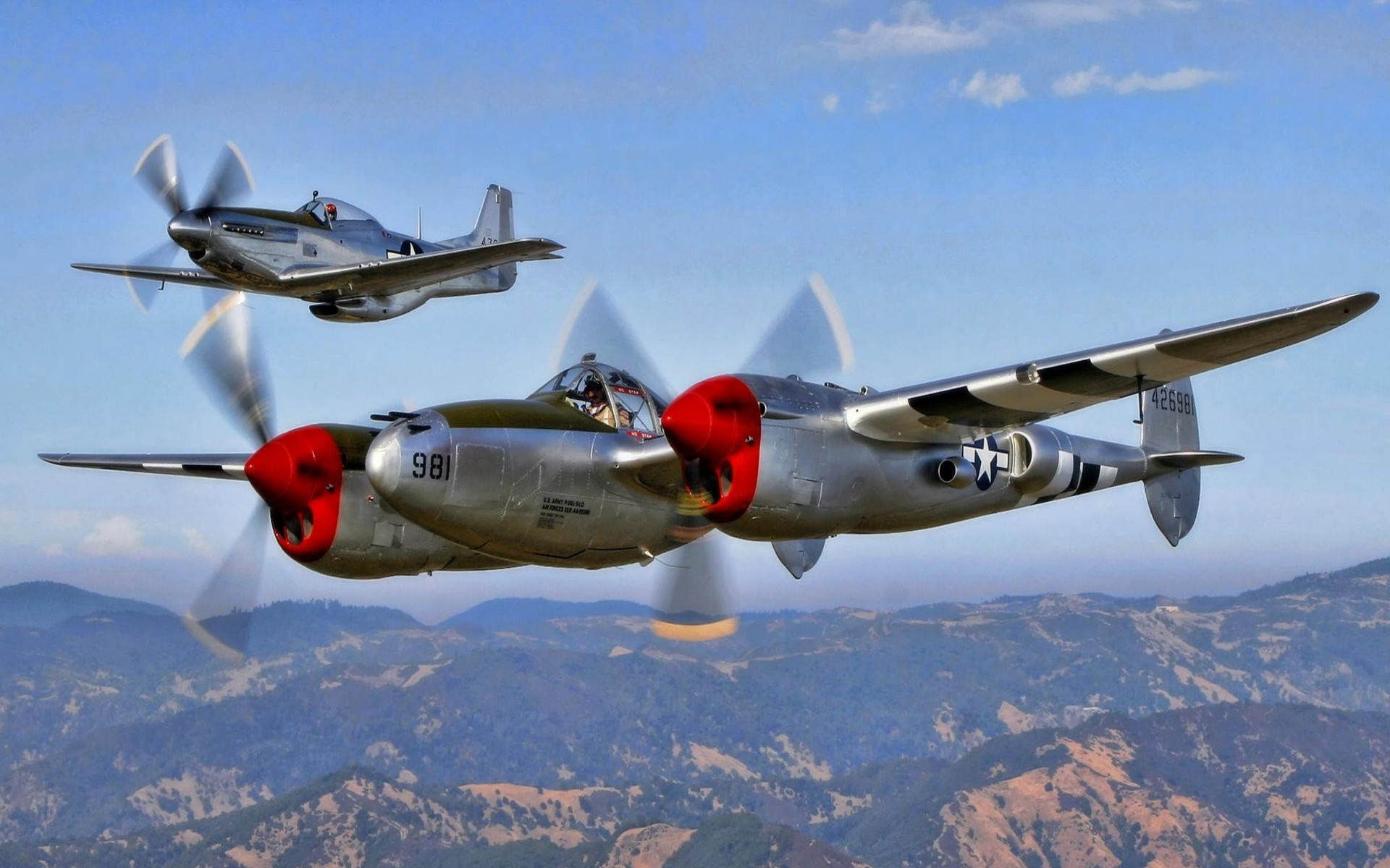 Iphone 5a Hd Wallpapers Lockheed P 38 Lightning Hd Wallpaper Background Image