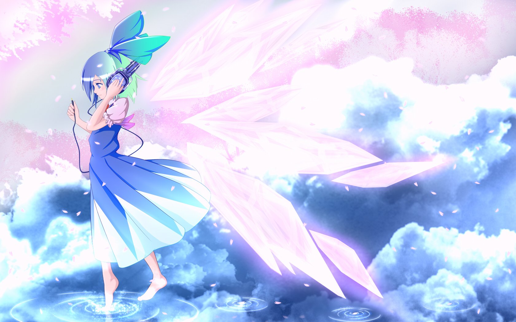 Animated Water Falling Wallpapers Beloved Angelish Daughter Wallpaper And Background Image