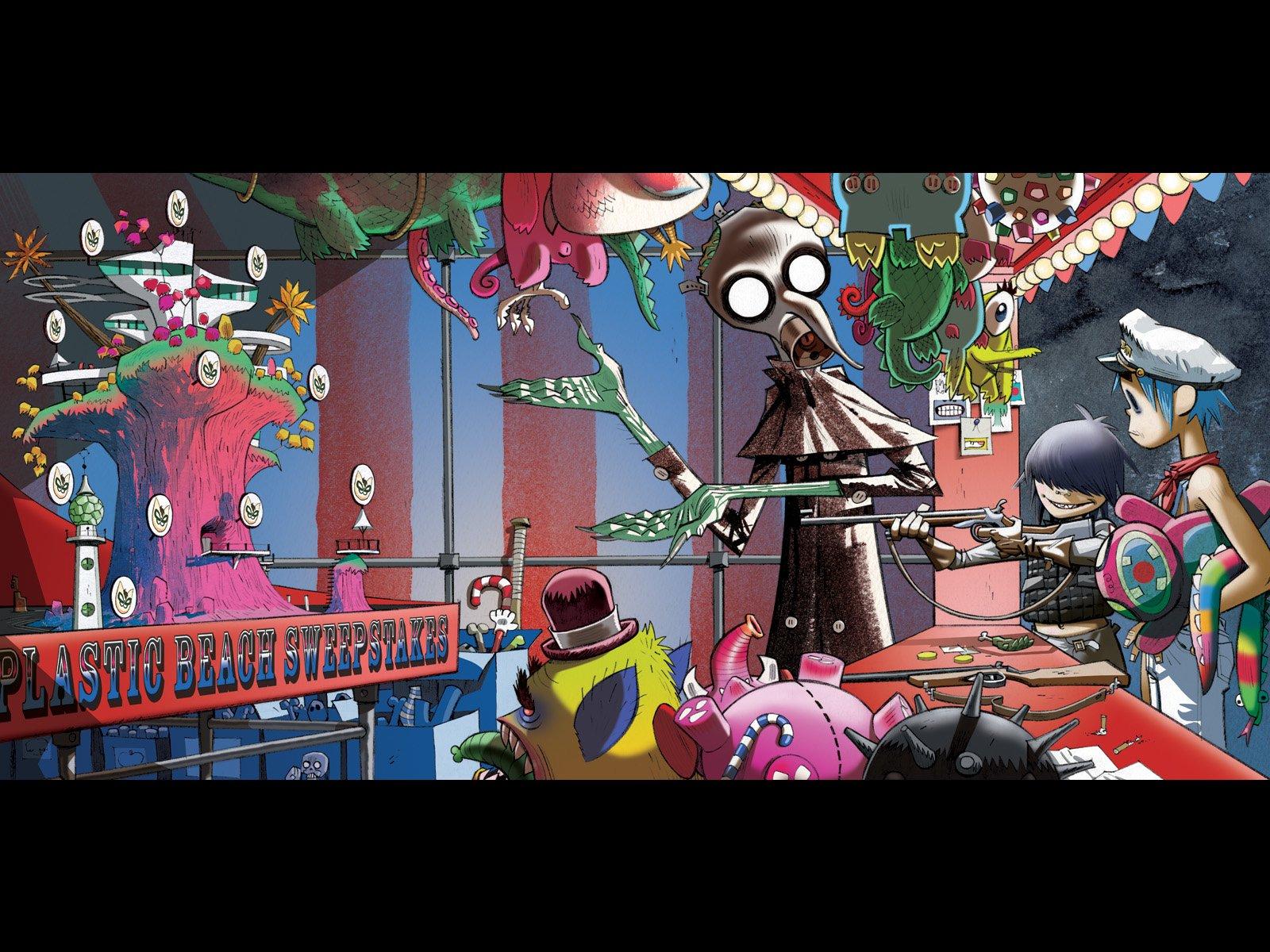 Gorillaz Iphone Wallpaper Gorillaz Wallpaper And Background Image 1600x1200 Id