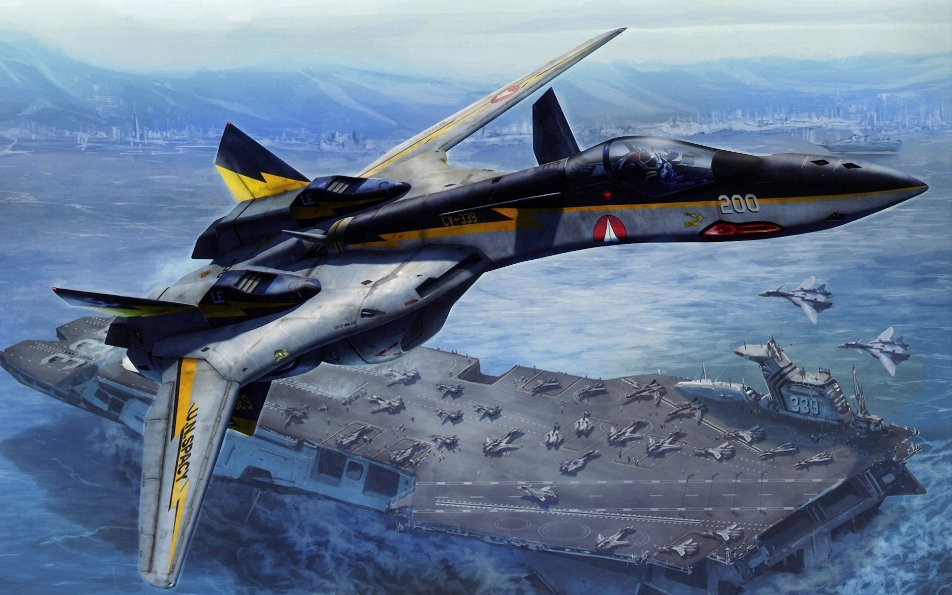 Airplane Wallpaper Iphone X Macross Full Hd Wallpaper And Background Image 1920x1200