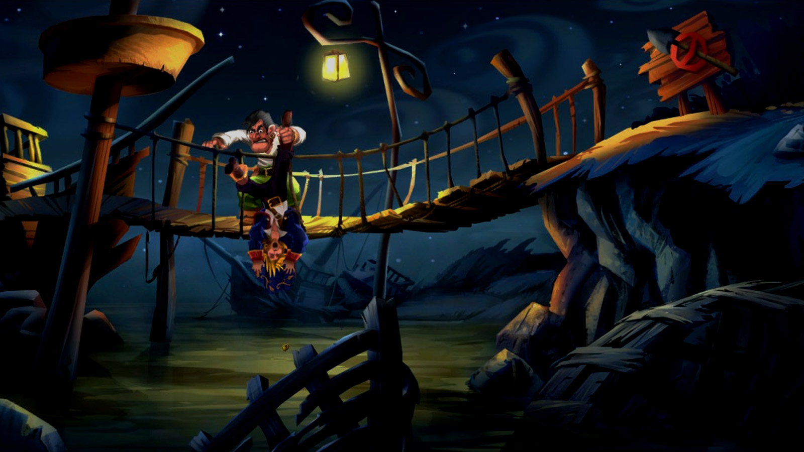 Uncharted Iphone Wallpaper Monkey Island Wallpaper And Background Image 1600x900