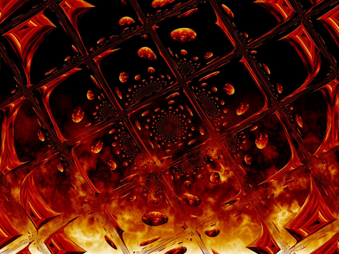 Avatar Wallpaper Hd 3d Fire Glass Wallpaper And Background Image 1366x1024 Id