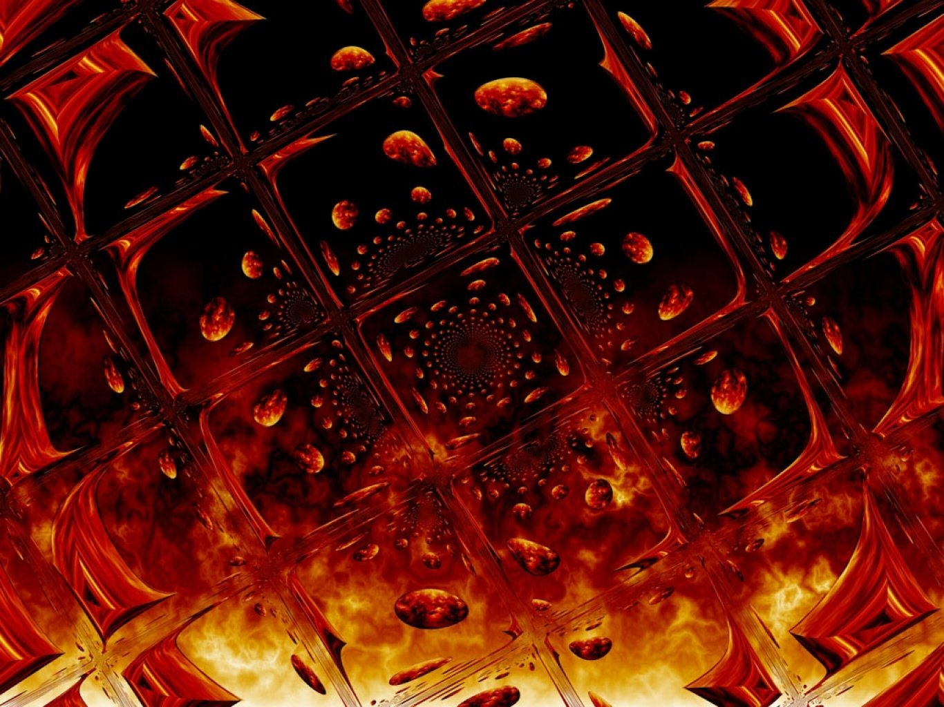 3d Wallpaper Avatar Fire Glass Wallpaper And Background Image 1366x1024 Id
