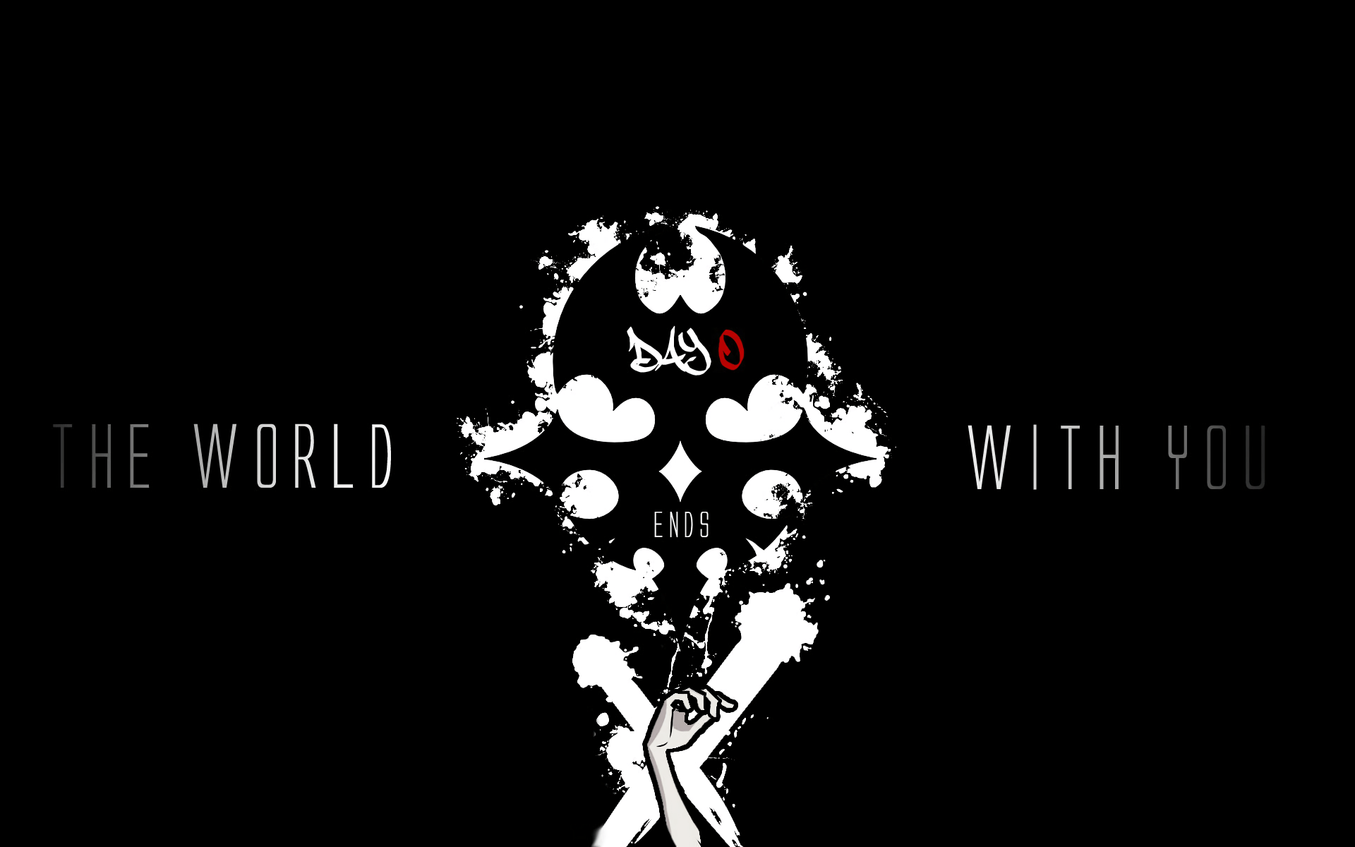 The World Ends With You Iphone Wallpaper The World Ends With You Hd Wallpaper Background Image