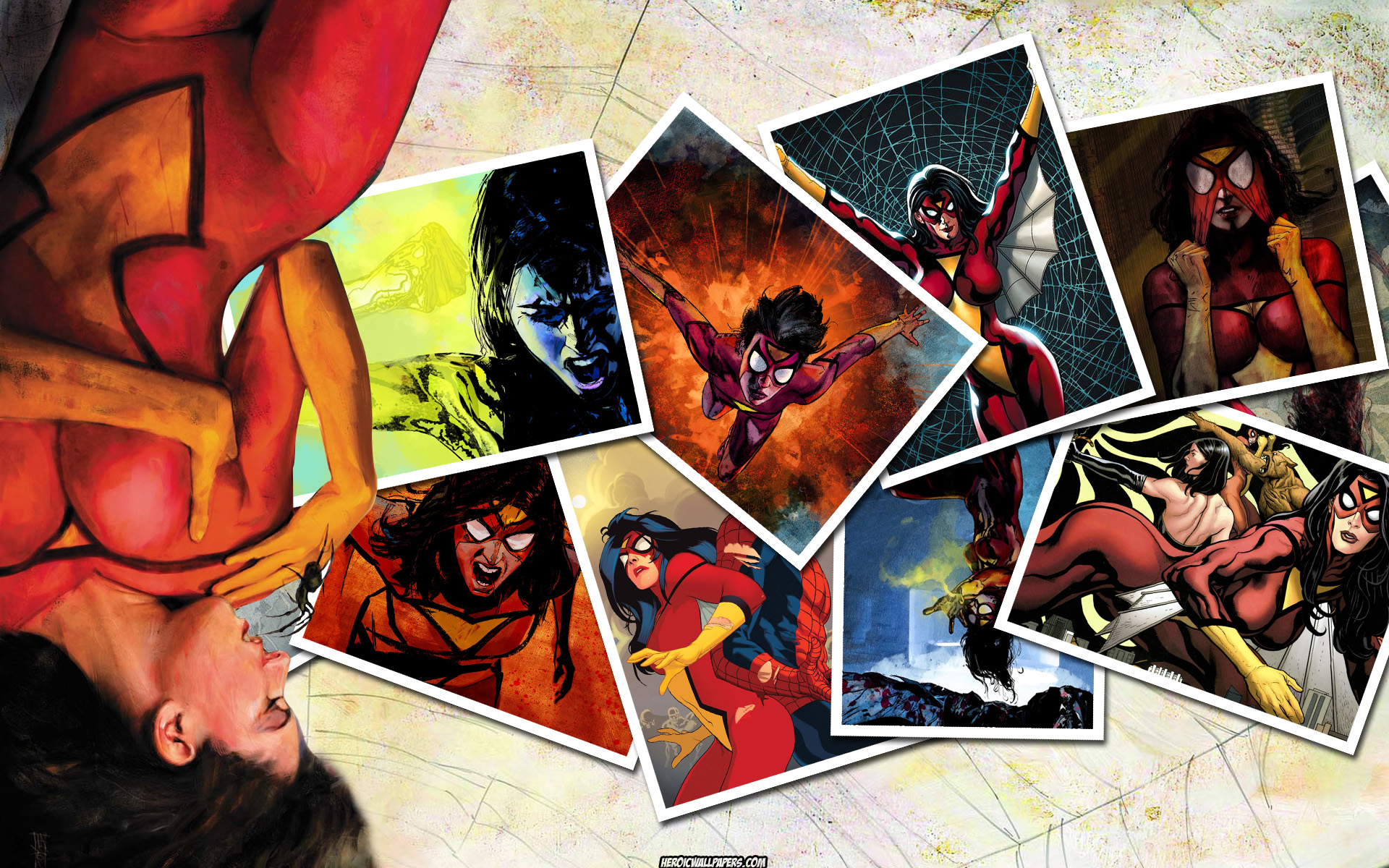 Srk 3d Wallpaper Spider Woman Computer Wallpapers Desktop Backgrounds