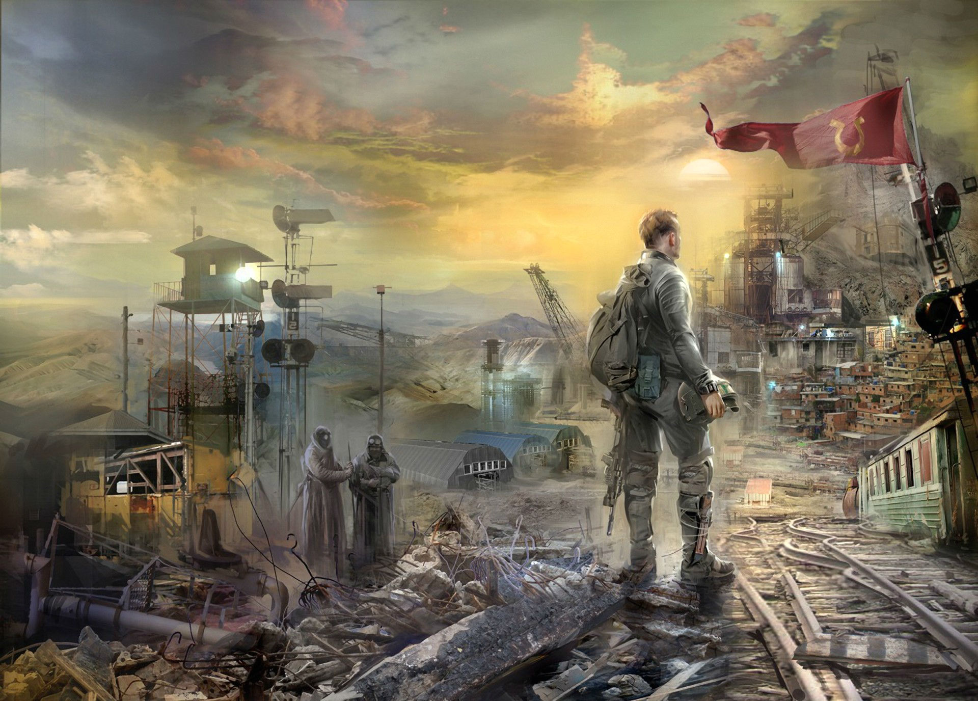 Resistance Fall Of Man Wallpaper Post Apocalyptic Full Hd Wallpaper And Background Image