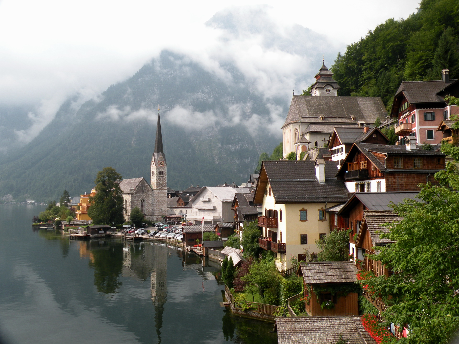 Iphone X Wallpaper Full Hd Hallstatt Austria Full Hd 壁纸 And 背景 1920x1440 Id 247584