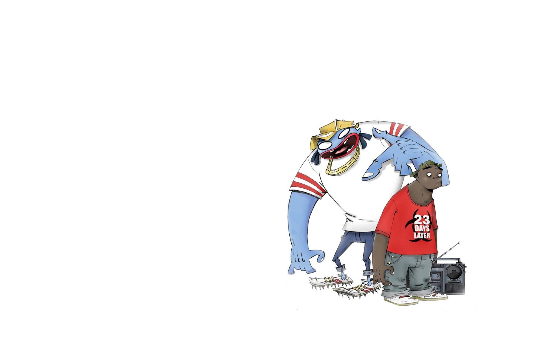Gorillaz Iphone Wallpaper Gorillaz Full Hd Fondo De Pantalla And Fondo De Escritorio