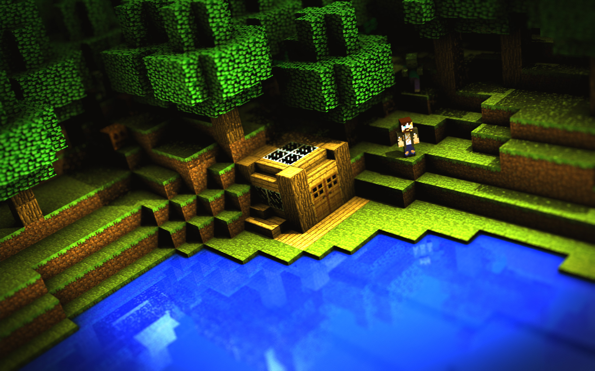 Iphone 5 Minecraft Wallpaper Minecraft Full Hd Wallpaper And Background Image