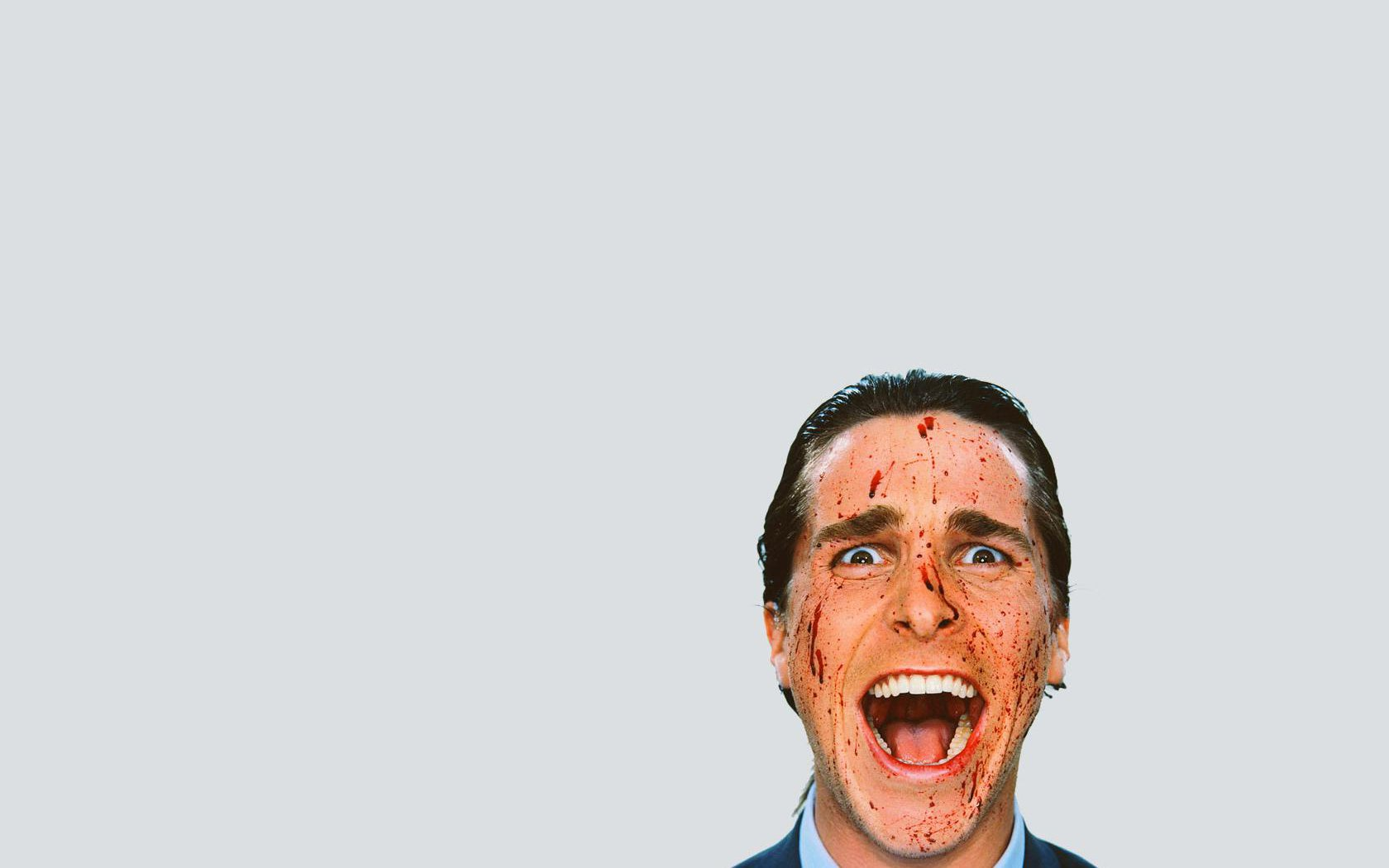 Christian Bale Iphone Wallpaper American Psycho Wallpaper And Background Image 1680x1050