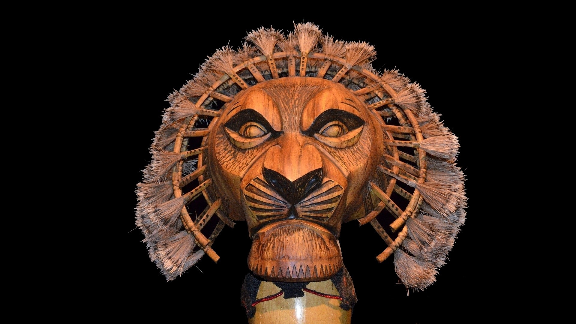 Lion Live Wallpaper Iphone X Mufasa Mask From The Lion King Musical Full Hd Wallpaper