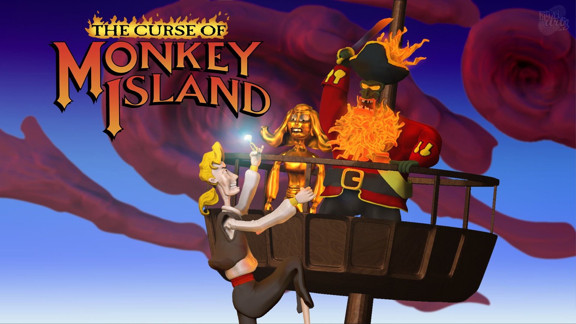 Legends Of The Fall Wallpaper 1 Monkey Island Iii The Curse Of Monkey Island Hd
