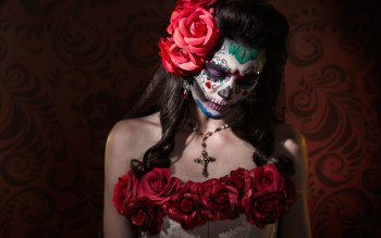Cute Dia De Los Muertos Wallpaper 89 Sugar Skull Hd Wallpapers Background Images