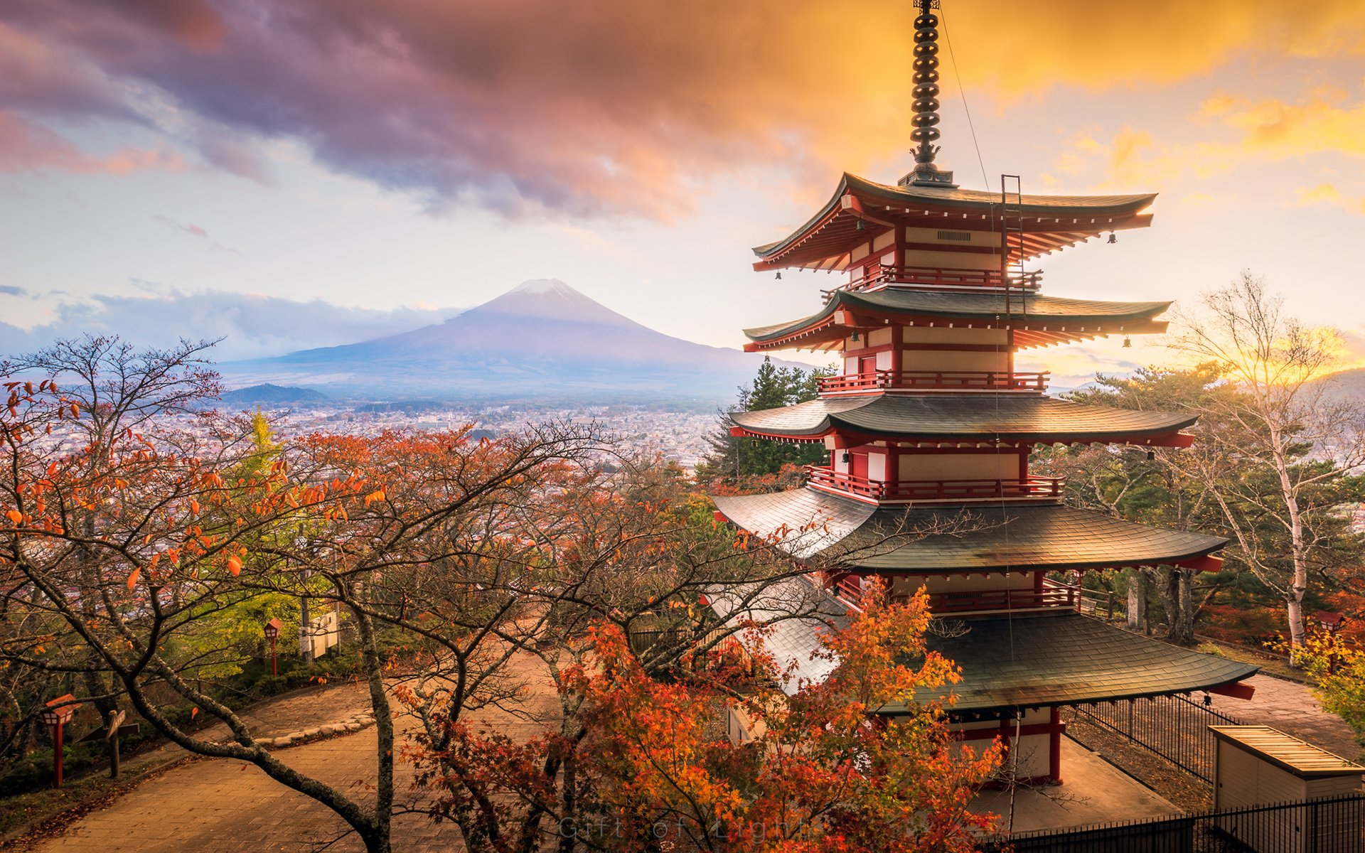 Fall Hd Wallpaper 1280x1024 Asian Architecture Full Hd Wallpaper And Background Image