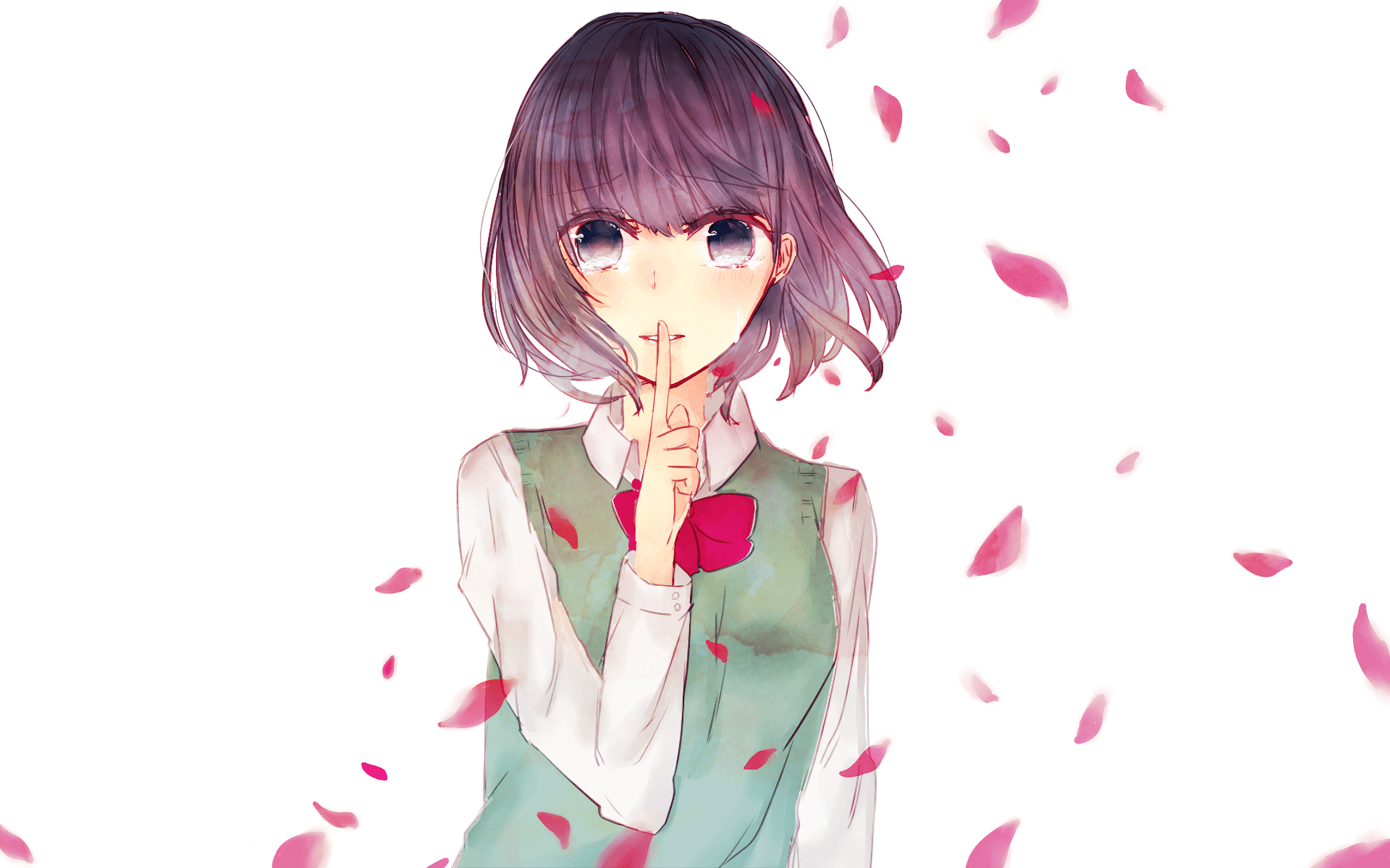 Wallpaper Engine Falling Girl Kuzu No Honkai Hd Wallpaper Background Image 1920x1200
