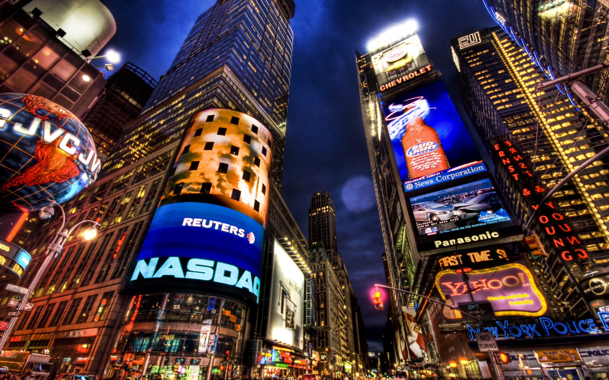 Times Square Iphone 6 Wallpaper Times Square Hd Wallpaper Background Image 2560x1600