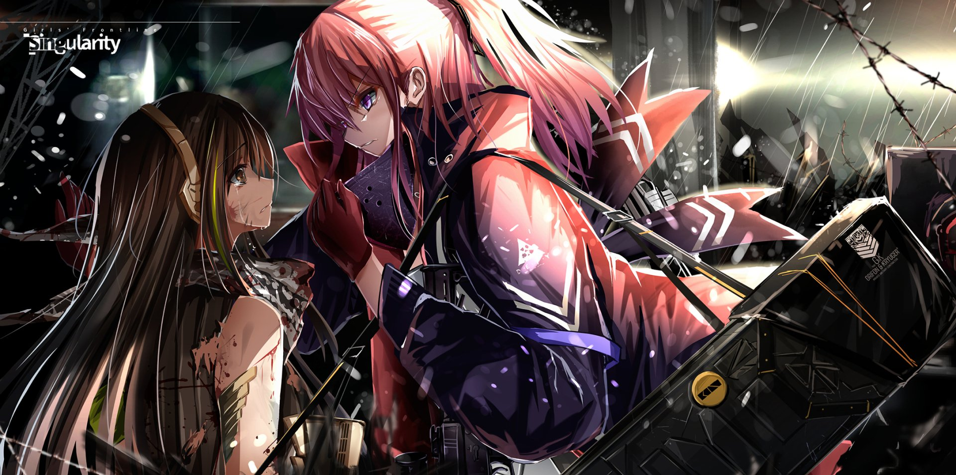 Iphone 4 Anime Girl Wallpapers 少女前线 高清壁纸 桌面背景 2173x1080 Id 911572 Wallpaper Abyss