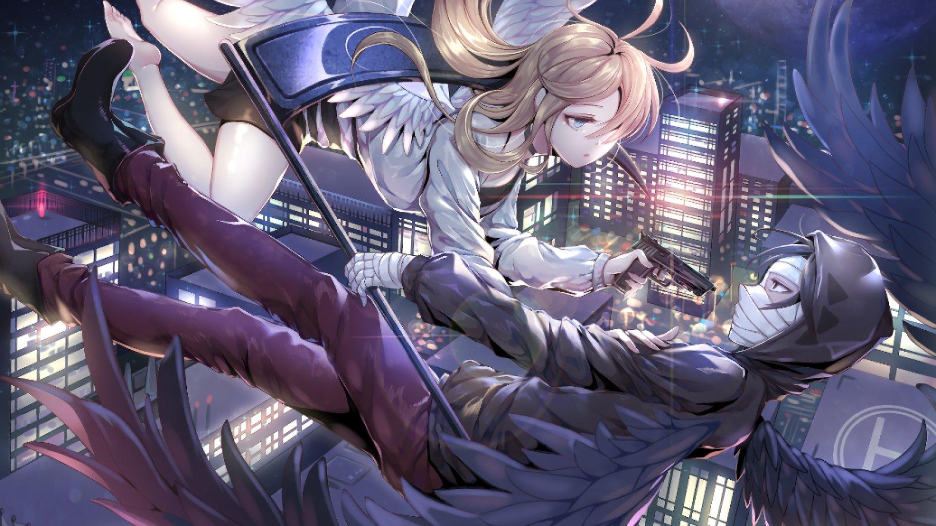 Hd Wallpaper Widescreen Anime 杀戮的天使 4k Ultra 高清壁纸 桌面背景 3840x2160 Id 933208