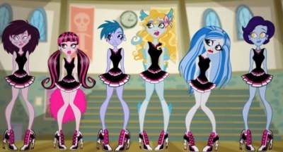 MONSTER HIGH NESESITA PORRISTAS