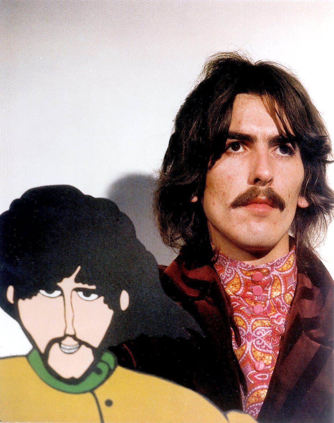 Moustache Wallpaper Hd George Harrison Images George Harrison Hd Wallpaper And