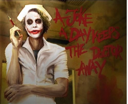 Falling Down Flowers Wallpaper Gallery The Joker Nurse Wallpaper