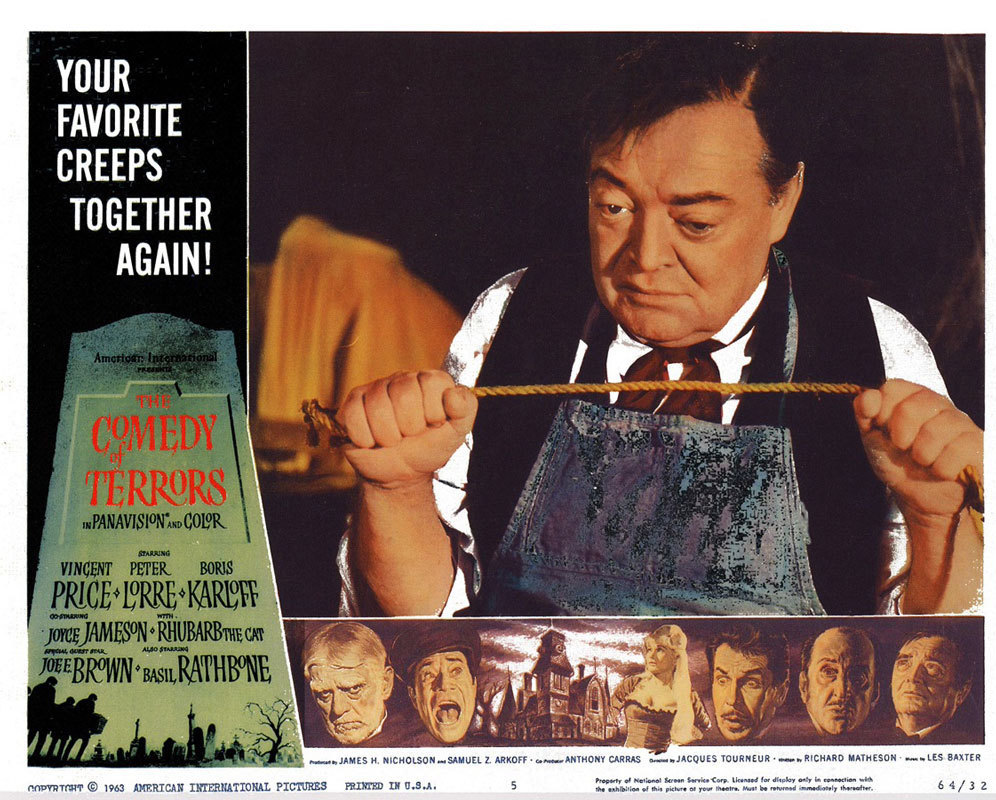 Horror Movie Wallpaper Hd Peter Lorre Images Comedy Of Terrors Lobby Card Hd