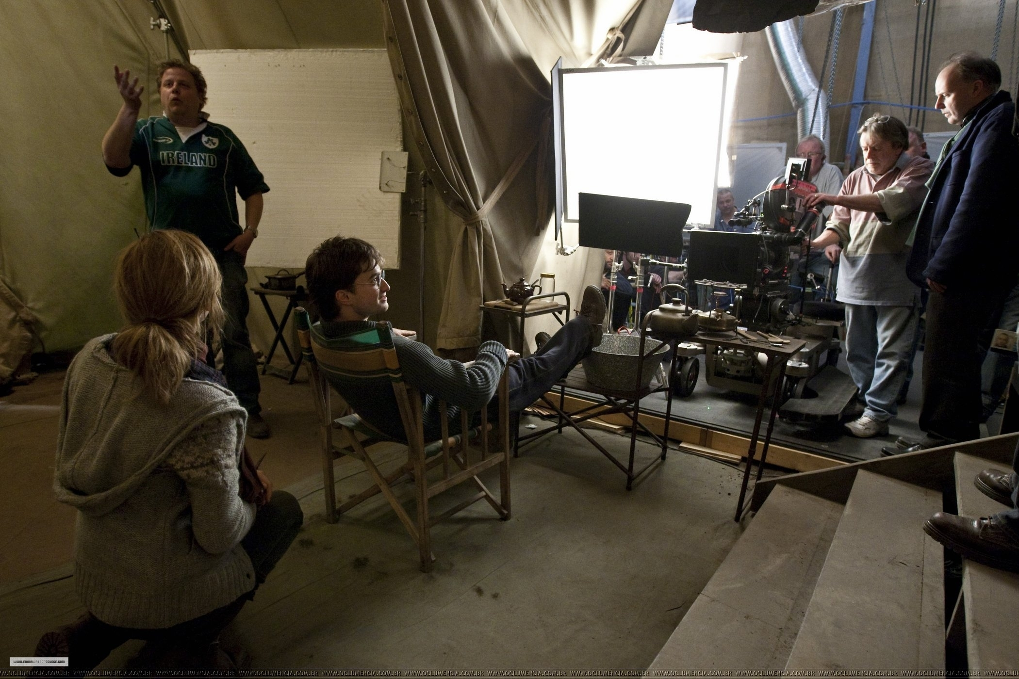 Harry Potter Wohnzimmer Behind The Scenes Hq Harry Potter Foto 16961208 Fanpop