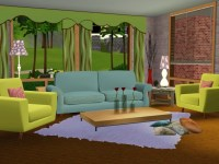 Livingroom - The Sims 3 Wallpaper (17301000) - Fanpop