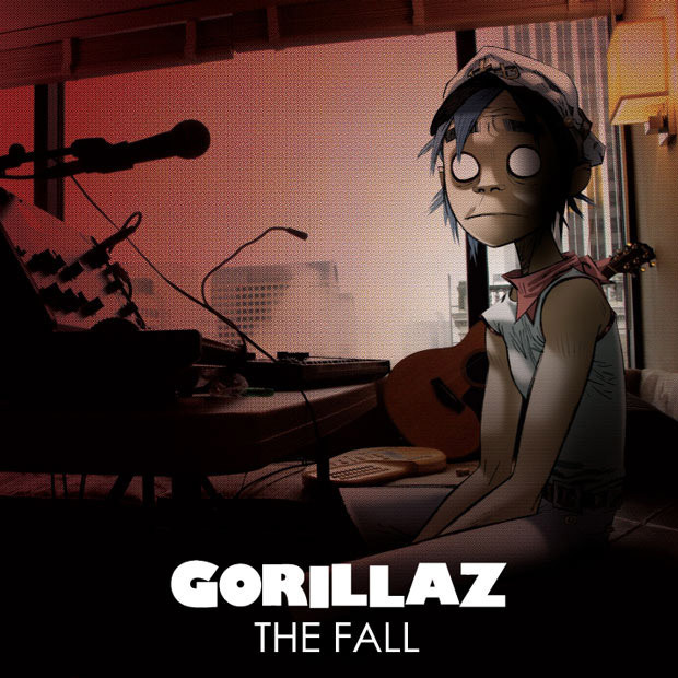 Gorillaz The Fall Wallpaper 2d Images Cover For The Fall Wallpaper And Background