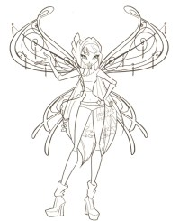 Winx Club Coloring Pages - Winxclub! Photo (18537844) - Fanpop