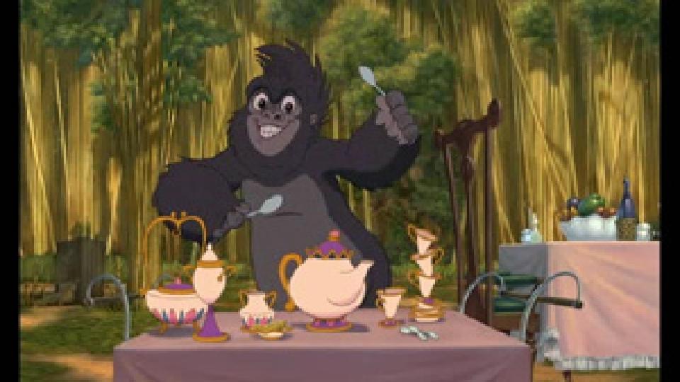 Easter Wallpaper Hd Terk From Tarzan Images Terk Playing Teacups Hd Wallpaper