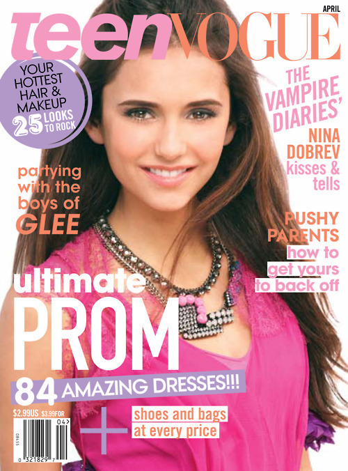 Gossip Girl Cartoon Wallpaper Juilet1234 Images Nina Dobrev Vogue Magazine Wallpaper