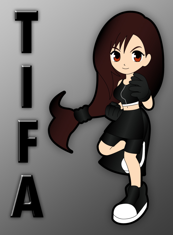 Little Girl Wallpaper Free Download Bellfantasygirl Images Chibi Tifa Hd Wallpaper And