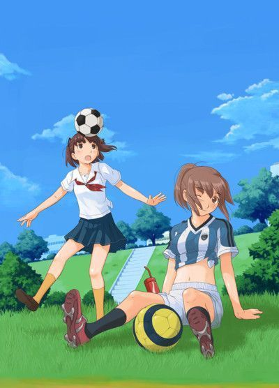 Cartoon Girl And Boy Wallpaper Anime Football Images Anime Soccer Wallpaper And