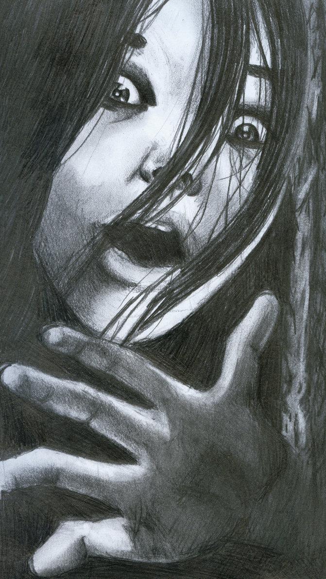 Horror Movie Wallpaper Hd Ju On Images Kayako Saeki Fanart Hd Wallpaper And