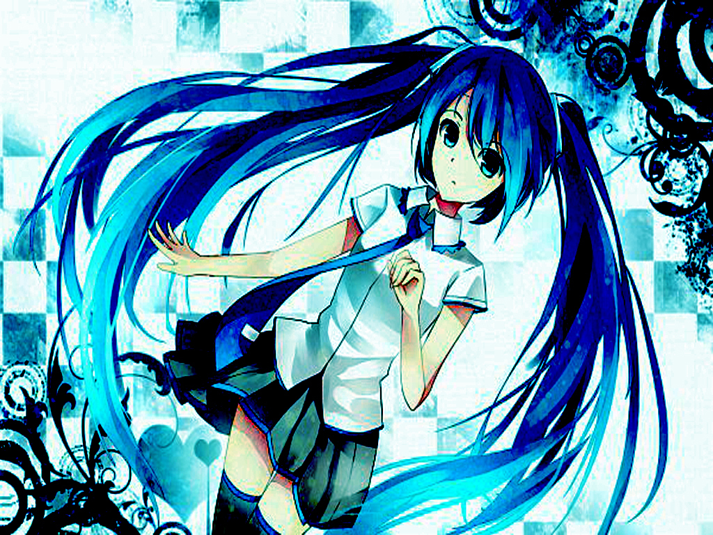 Anime Dj Wallpaper Hatsune Miku Images In Blue 2 Hd Wallpaper And