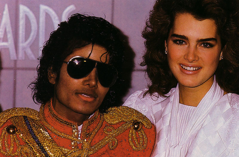 Shield Wallpaper Hd Michael Jackson And Brooke Shields Images Michael And