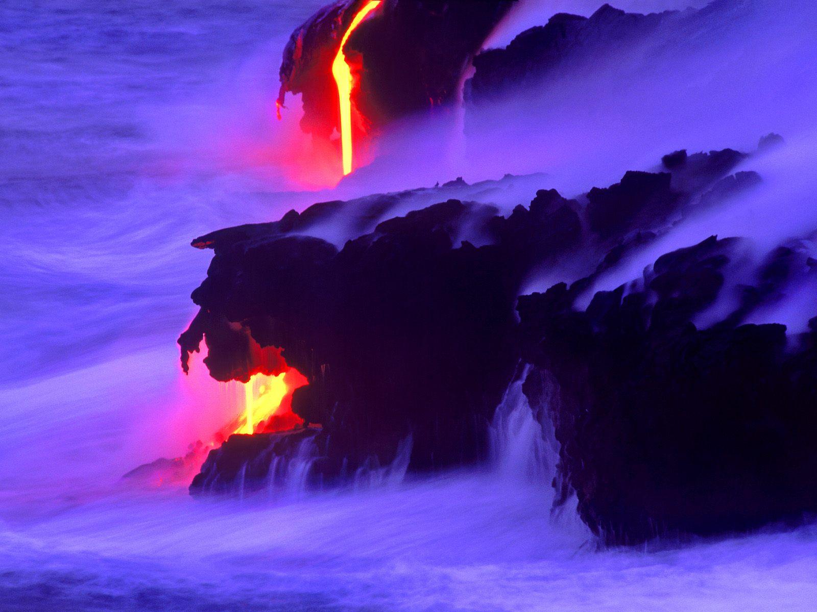 Falling Cherry Blossom Wallpaper Hd Hawaii Images Lava Dreams Big Island Hd Wallpaper And