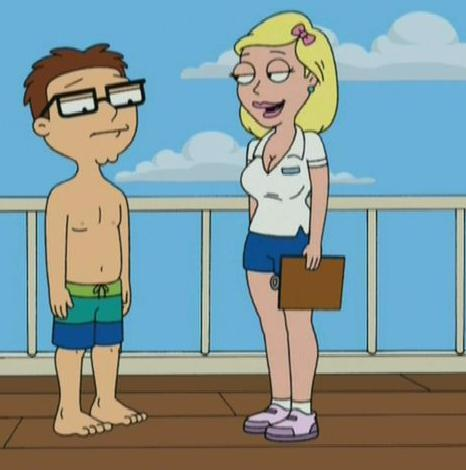 and steve american dad lisa silver