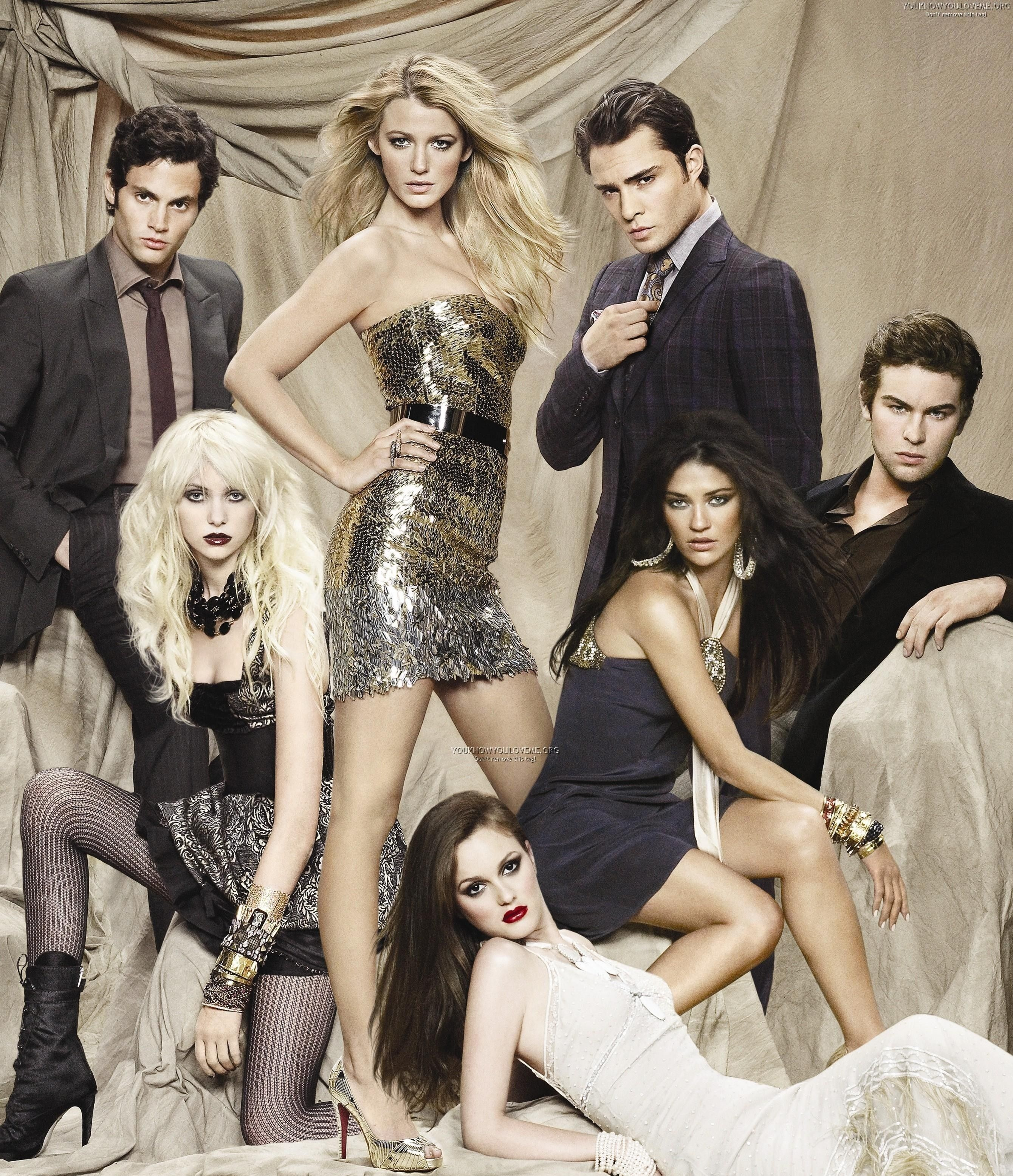 Gossip Girl Chuck And Blair Wallpaper Best Group Picture To Represent Season 3 Poll Results