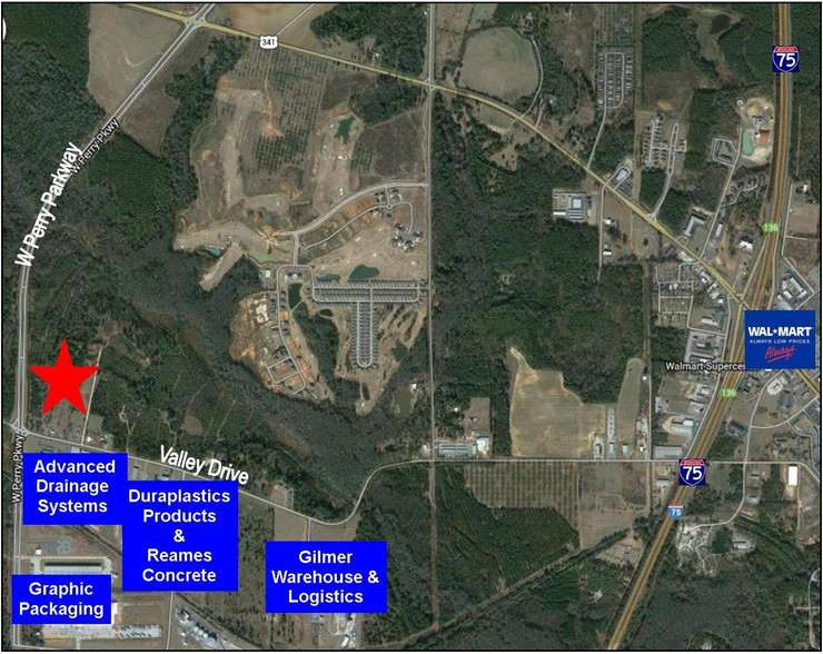 3399 Valley Dr, Perry, GA, 31069 - Industrial Property For Sale on