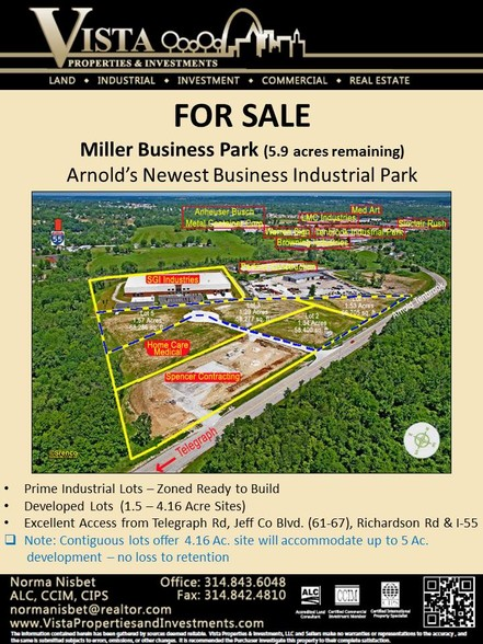 Arnold Tenbrook Rd, Arnold, MO 63010 - Land For Sale on Cityfeet - land for sale flyer